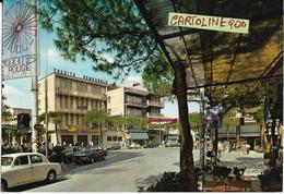 Emilia Romagna-rimini-cattolica Viale Balneare Veduta Animatissima Fine Anni 60 - Autres Villes