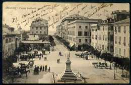 Chiavari - Piazza Garibaldi - Viaggiata 1917 Posta Militare Francese - Rif. Mn0168 - Altre Città
