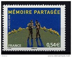 "FR YT 3976 "" La Mémoire Partagée "" 2006 Neuf** - Neufs"