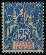 Soudan (1900) N 18 * (charniere) - Soudan (1894-1902)