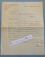 L.A.S 1933 Maison SCHICKE ALBERTINI - Corset De Coupe Gaines Ceintures Soutiens Gorges - MARSEILLE Lettre Autographe - Textile & Vestimentaire