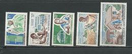 CENTRAFRIQUE  Scott 49-52, C30 Yvert 51-54, PA33 ** (5) Cote 5,25 $ 1965 - Centrafricaine (République)