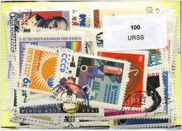 Lot 100 Timbres URSS - Timbres