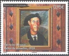 Andorre Français 2011 Yvert 708 Neuf ** Cote (2015) 3.30 Euro Francesc Borràs Portrait De Conseiller - Andorre Français