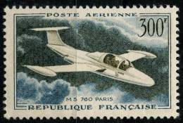 France PA (1957) N  35 * (charniere) - Poste Aérienne