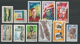 CENTRAFRIQUE  Voir Détail ** (11) Cote 5,25 $ 1966-7 - Centrafricaine (République)