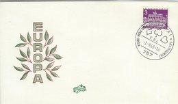 European Bridge Championship - Postmark. Baden-Baden E.B.L. 1963. Germany. H-1377 - Games