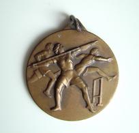 1953  BARI COPPA S.A.F  ATLETICA     SPORT MEDAGLIA MEDAL - Athletics