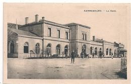 Cpa 57 Sarrebourg  La Gare - Sarrebourg