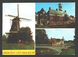 Dokkum / Dockum - Groeten Uit Dockum - Molen / Moulin / Mill - Dokkum