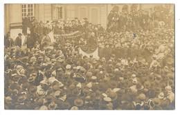 WISSEMBOURG  (67) Carte Photo Réception Des Troupes Françaises 1918 - Wissembourg