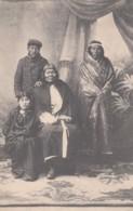 Studio Portrait Chile Natives, Fashion Ethnic Types, C1900s/10s Vintage Chile Published Postcard - Cile