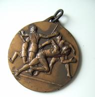 1953  BARI  CAMPIONATI PUGLIESI   ATHLETICS   ATLETICA MEDAL MEDAGLIA - Athlétisme