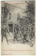 88 - Domrémy - Le Salut Militaire Devant La Maison De Jeanne D'Arc - Carte D'un Militaire En 1919 - Domremy La Pucelle