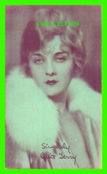 ACTRICES - ALICE TERRY, 1900-1987 - ( ALICE FRANCES TAEFFE )-  EX. SUP. CO, CHICAGO 1928 - CUT COUPON EXHIBIT - - Acteurs