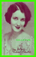 ACTRICES - GERTRUDE OLMSTED, 1897-1975 - EX. SUP. CO. CHICAGO, 1928 - CUT COUPON EXHIBIT - - Acteurs