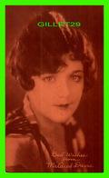 ACTRICES - MILDRED DAVIS, 1901-1969 - EX. SUP. CO. CHICAGO, 1928 - CUT COUPON EXHIBIT - - Acteurs