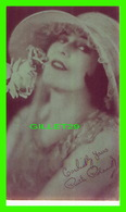 ACTRICES - RUTH ROLAND, 1892-1937 - EX. SUP. CO. CHICAGO, 1928 - CUT COUPON EXHIBIT - - Acteurs