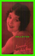 ACTRICES - MARCELINE DAY, 1908-2000 - EX. SUP. CO. CHICAGO, 1928 - CUT COUPON EXHIBIT - - Acteurs