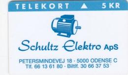 Denmark, FP 033, Schultz Elektro Aps, Only 1.000 Issued. - Denmark