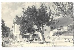 THOIRY (01) Photographie Type Carte Photo La Pergola Terrasse Animation - Autres Communes