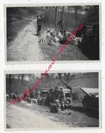CHASSE En 1945-NAUCELLES-fermeture De La Chasse- 2 Photos - Fotos