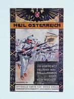 5082 Prima Guerra Pubblicitaria Pubblicita Militare 1915 Offizielle Karte Fur Rotes Kreuz Croce Rossa Nr 168 - Weltkrieg 1914-18