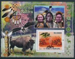 NB - [400690]Sao Tomé-et-Principe 2009 - Amérique Amerindienne - Indiens D'Amérique