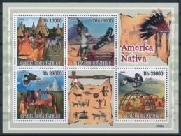 NB - [400717]Sao Tomé-et-Principe 2008 - Amérique Amerindienne - Indiens D'Amérique