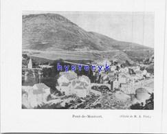 Pont De Montvert 13x10cm  1903 ( Bien Lire La Description) - Old Paper