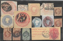 Grande-Bretagne Entiers Postaux 1866-90 O & * - Stamped Stationery, Airletters & Aerogrammes