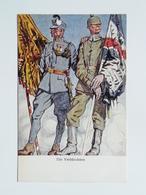 5085 Prima Guerra Pubblicitaria Pubblicita Militare 1915 Offizielle Karte Fur Rotes Kreuz Croce Rossa Nr 182 Waffenbrude - Weltkrieg 1914-18