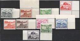Islanda 1950 Unif. 224/33 **/MNH VF - 1944-... Republic