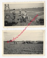 CHASSE En 1958- à VILLARS-2 Photos Format 11,2 X 6,8cm Chaque - Otros
