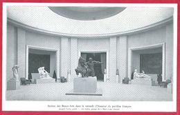 """Exposition à Bruxelles, Section Des Beau Arts Du Pavillon Français, Architecte Jacques Carlu, """"Mars"""" Par Janniot. 1935. - Other"""