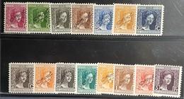Luxembourg- Marie-Adélaîde  Yvert N°95/109 -Neuf Sans Charnières-  Surcharge - 1914-24 Marie-Adélaïde