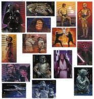 Etats-Unis / United States (Scott No.4143a-o - La Guerre Des étoles / Star Wars) (o) Set - Verenigde Staten