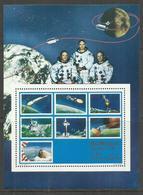 SOMALIA 1969 - 1970  SPACE MOON LANDING SOVENIR SHEET  - PRIMO UOMO SULLA LUNA FOGLIETTO MNH POST AFIS - Somalia (1960-...)