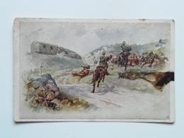5098 Prima Guerra Pubblicitaria Pubblicita Militare 1915 Offizielle Karte Fur Rotes Kreuz Croce Rossa Nr 238 - Guerra 1914-18