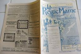 LA REVUE MAME -No 87-31 MAI 1896-MOSCOU LA SAINTE ET COURONNEMENT DU TSAR-COMTE LAVEDAN-SPORT ORIGINAL-GRAVURES ENFANTS - Journaux - Quotidiens