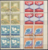 ALBANIEN 823-826, 4erBlock, Gestempelt, Olympische Sommerspiele, Tokio 1964 - Summer 1964: Tokyo