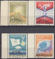 ALBANIEN 823-826, Gestempelt, Olympische Sommerspiele, Tokio 1964 - Sommer 1964: Tokio