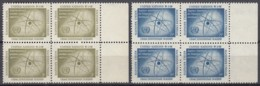 UNO NEW YORK 66-67, 4erBlock, Postfrish **, IAEA 1958 - New York -  VN Hauptquartier