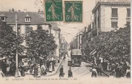 56 - LORIENT - Place Saint Louis Et Rue Du Morbihan - Lorient