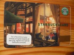 Starbucks Gift Card USA - Old Logo 2007 6057 - Gift Cards