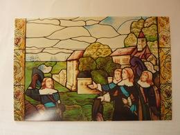 Le Départ De Samuel De Champlain De Honfleur - Vitrail Dans L'escalier Du Lieutenant Gouverneur - Autres