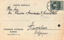 Carte Postale Publicitaire - Theodor Fatzaun, Eupen 1930 (Rubens) - Eupen