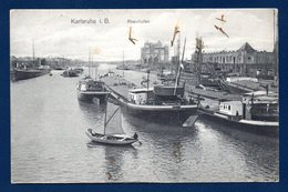 Karsruhe. Rheinhafen. 1911 - Karlsruhe