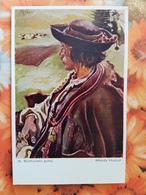 Ukraine. Typy Huculskie. Sichulski. Huculi Types. Young Hucul Man - 1910s Polska - Ukraine