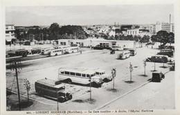 56 - LORIENT Moderne - La Gare Routière - A Droite, L' Hôpital Maritime - Lorient